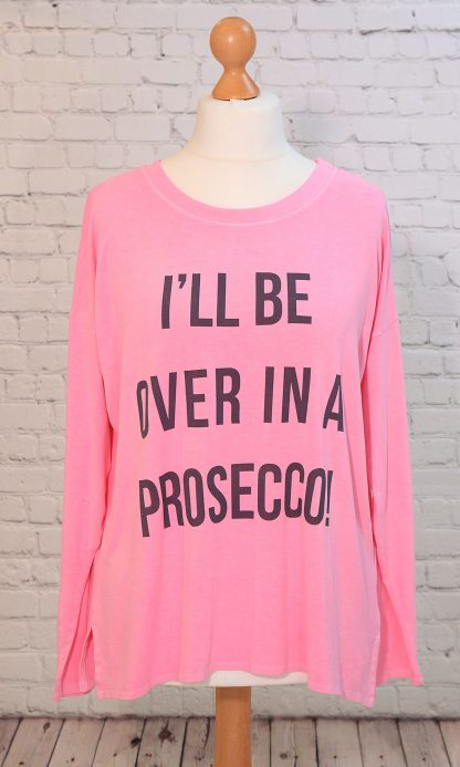 Over in a Prosecco top