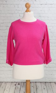 Short jumper hot pink