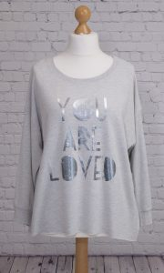 You are loved jersey top