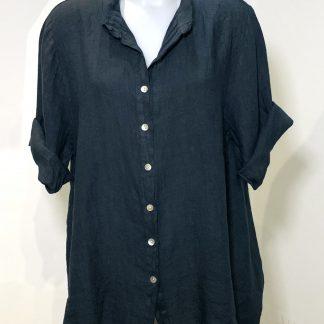 oversized linen shirt