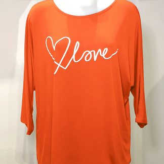 love top orange