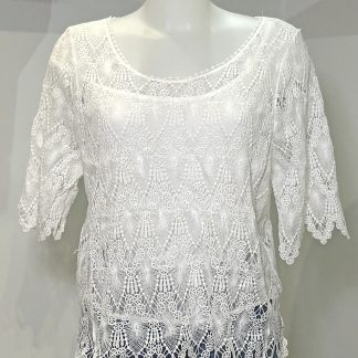 delicate lace top