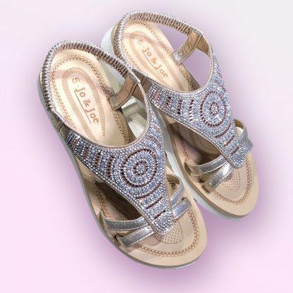 sparkle sandal