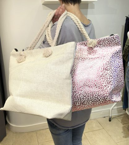 beach bag, print one side