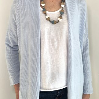 cardigan with sleeveless vest