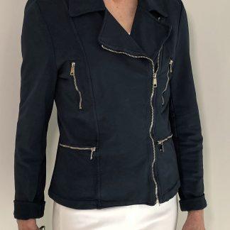 Cotton Biker Jacket