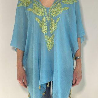 Embroidered Embellished Kaftan