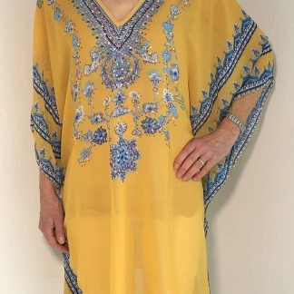 Jewel Embellished, Lightweight Kaftan