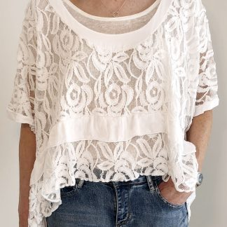 lace over top