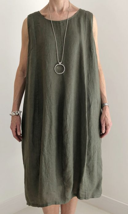 Tupli Shape Linen Dress