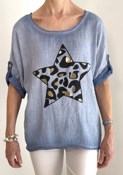 cotton star top