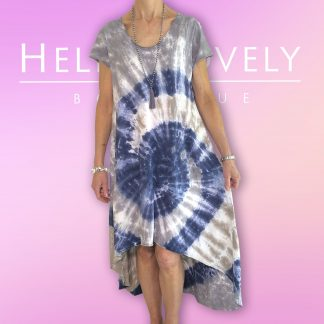 Tye dye high low