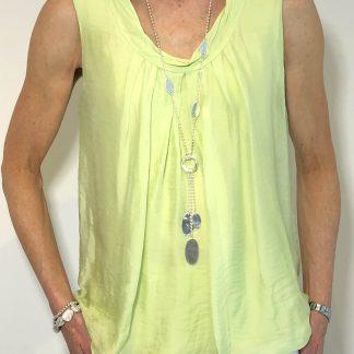 silk bubble vest