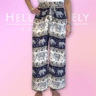 Elephant Trousers with Wrap Around Front