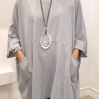 two pocket tunic