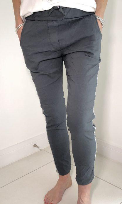 Sequin Stripe Magic Trouser