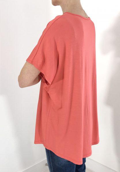 v neck short sleeve t shirt