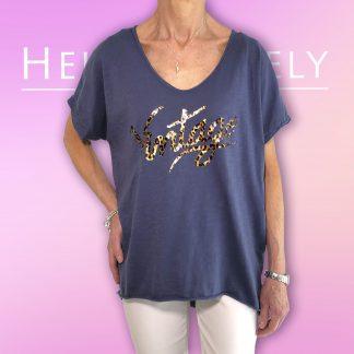 leopard vintage t shirt