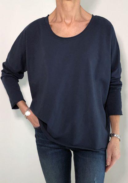 Round Neck Sweatshirt