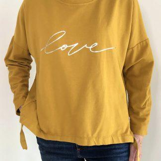 love tab sweatshirt