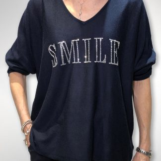 smile sparkle sweater