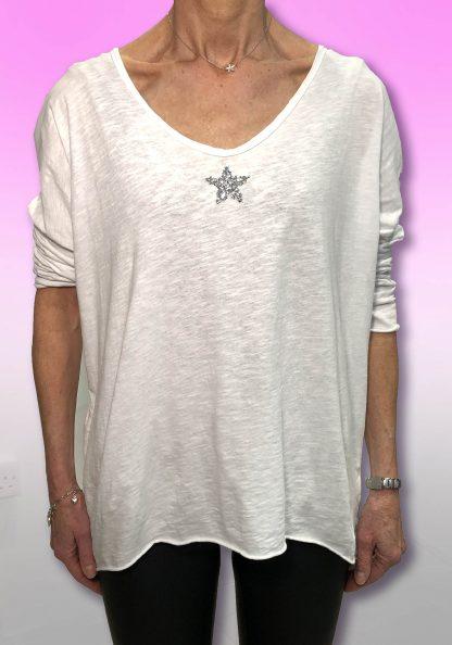 Long Sleeve Star T Shirt