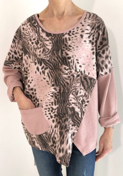leopard asymmetric top