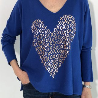 Heart Hugs and Kisses Jumper