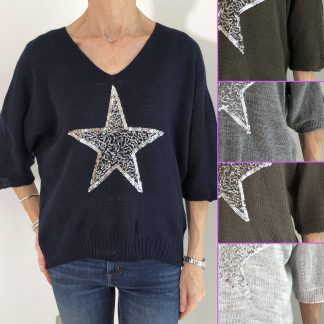 Lightweight Star Jumper