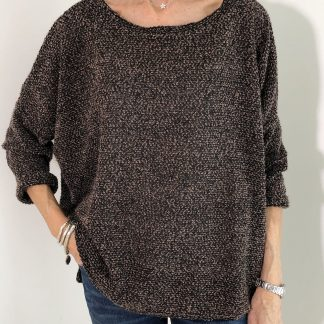 Boucle Knit Top