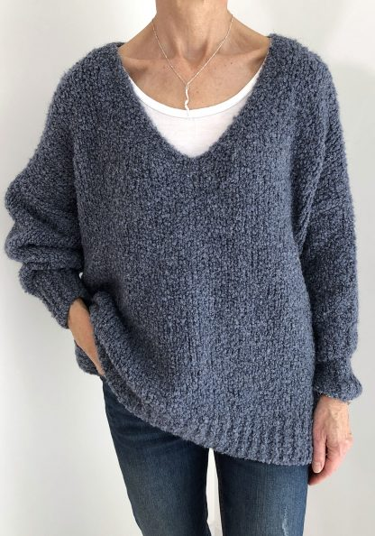 Chunky Boucle Type Knit