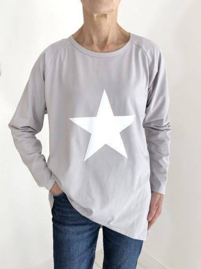 white star sweatshirt