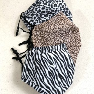 animal print face mask