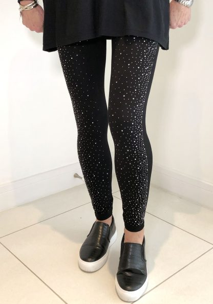 glitter leggings