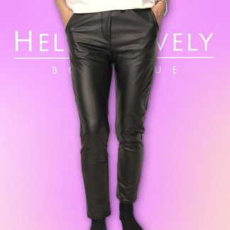 Pleather Magic Trousers