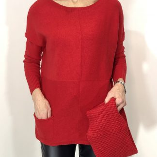 Detachable Snood Jumper