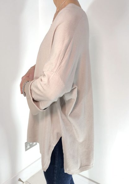 satin cuff jumper