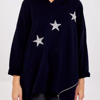 diagonal three stars top