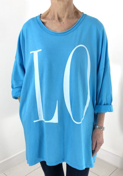 LOVE cotton sweatshirt