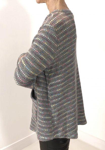 multi colour fleck jumper