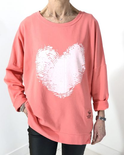 Fingerprint Heart Sweatshirt
