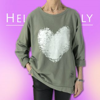 Fingerprint Heart Sweatshirt