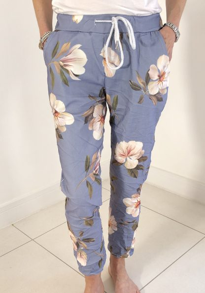 magic flower trousers