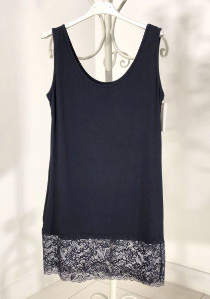 lace vest navy