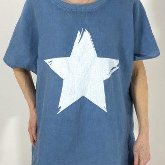 linen star T shirt