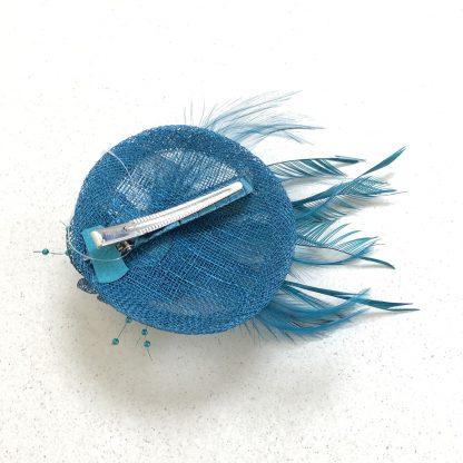 "mini fascinator 4"" diameter"