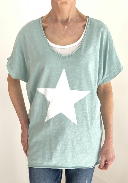 star oversized T shirt