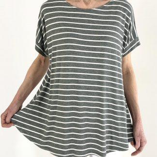stripe swing top