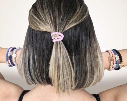hair bands or bracelets