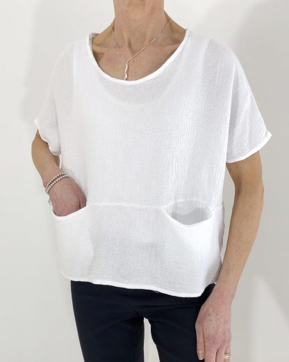 two pocket short top